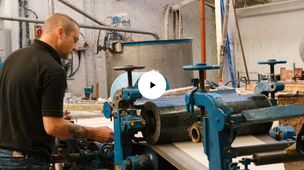 Podcast for LUSH: Portrait of a Master Paper Maker